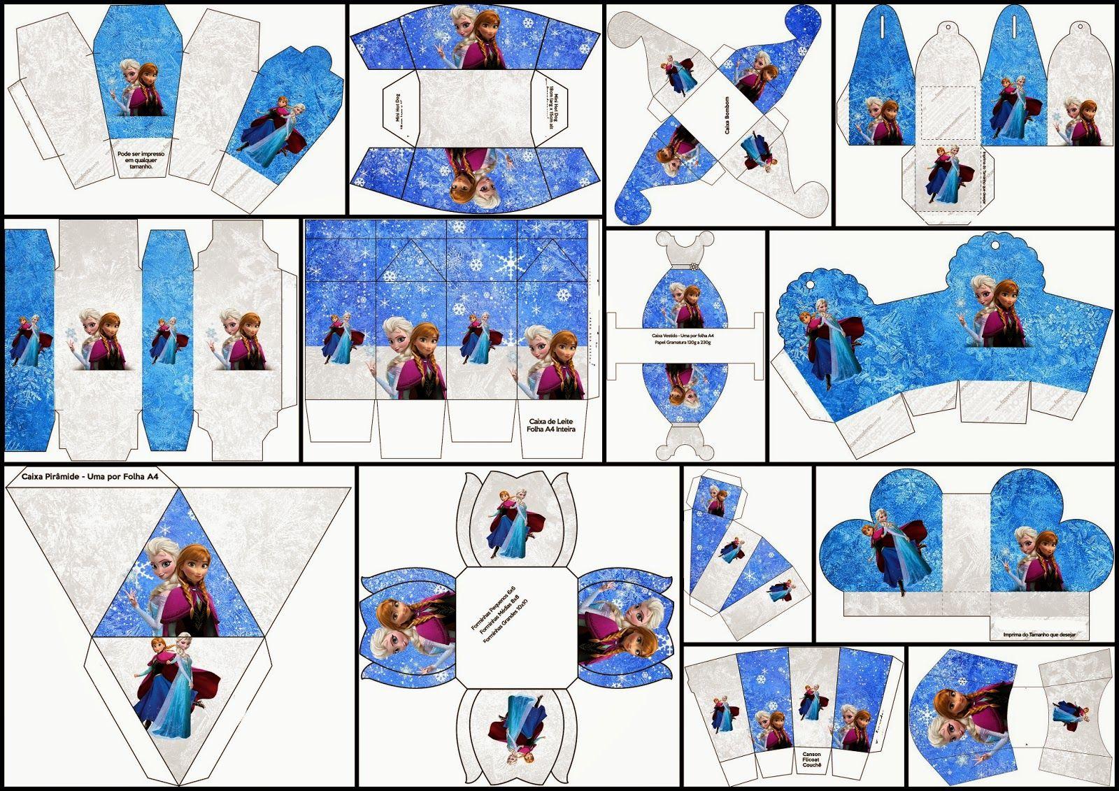 blue-and-white-frozen-free-printable-kit1.jpg (1600×1131 ...