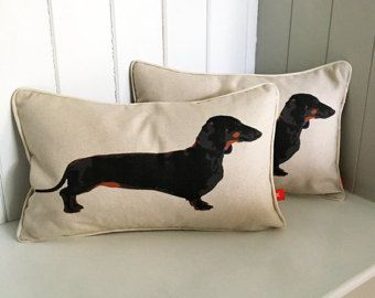 Dachshund Cushion Dachshund Pillow Dachshund Lover Gift