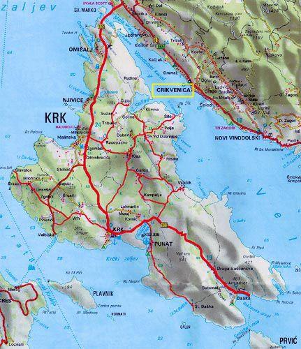 Info Island Krk Croazia