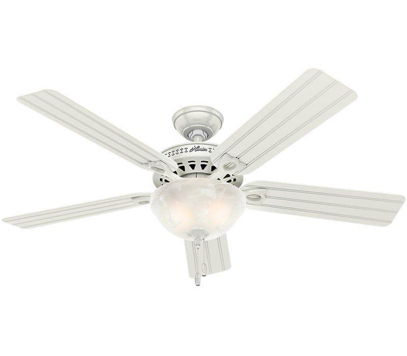 Hunter 53122 Beachcomber 52 Outdoor Ceiling Fan With Light