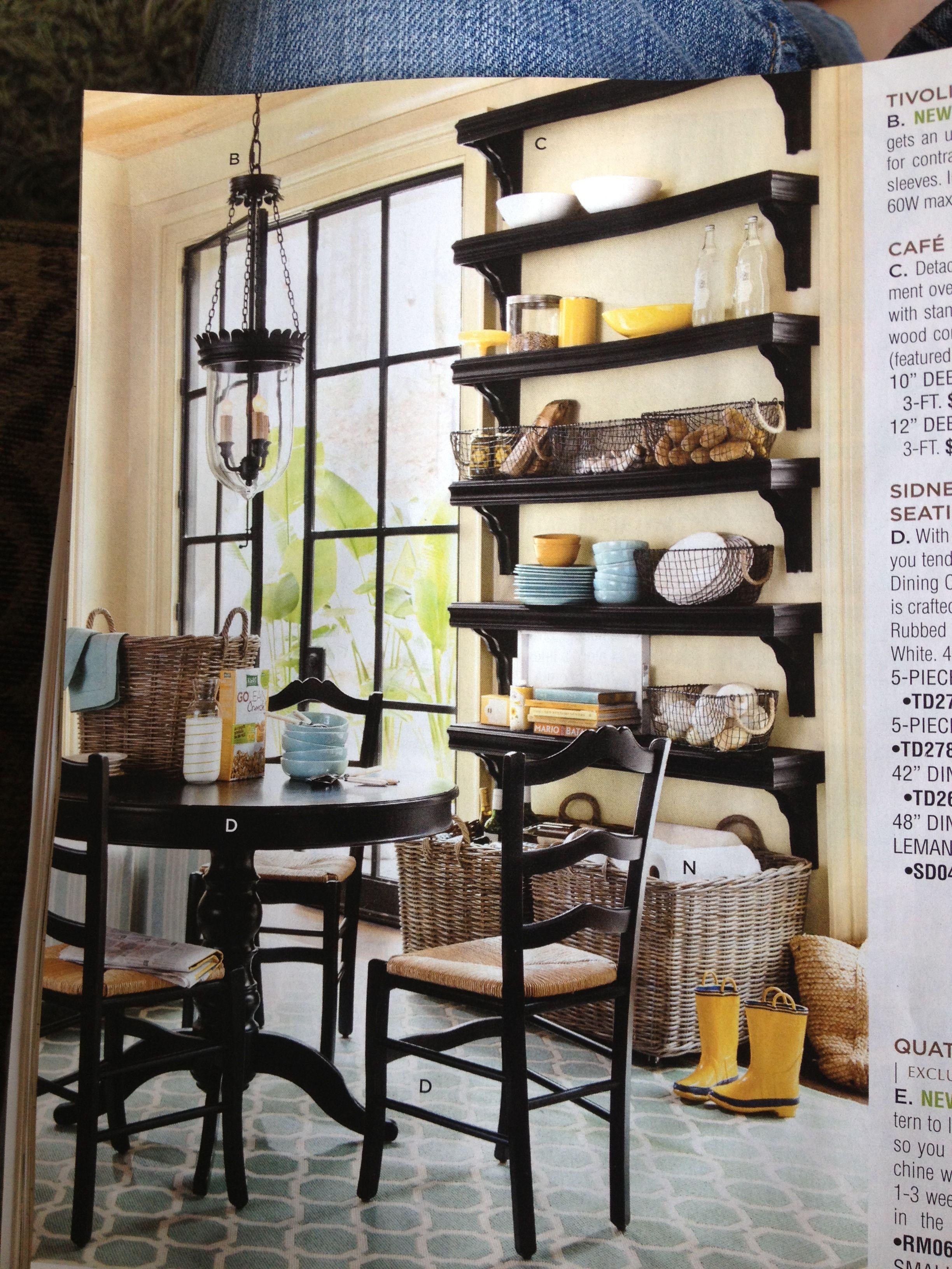 Love the shelves! | Home, Dining room shelves, Dining room ...