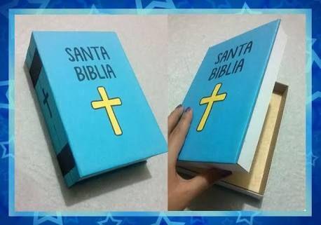 Resultado de imagen para como hacer una biblia con una - Como hacer una mampara ...