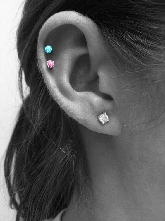 #16G #Ball #Crystal #Ear #Ferido #fitness #langhantel fitness #16G #Ball #Crystal #Ear #Ferido #fitn...