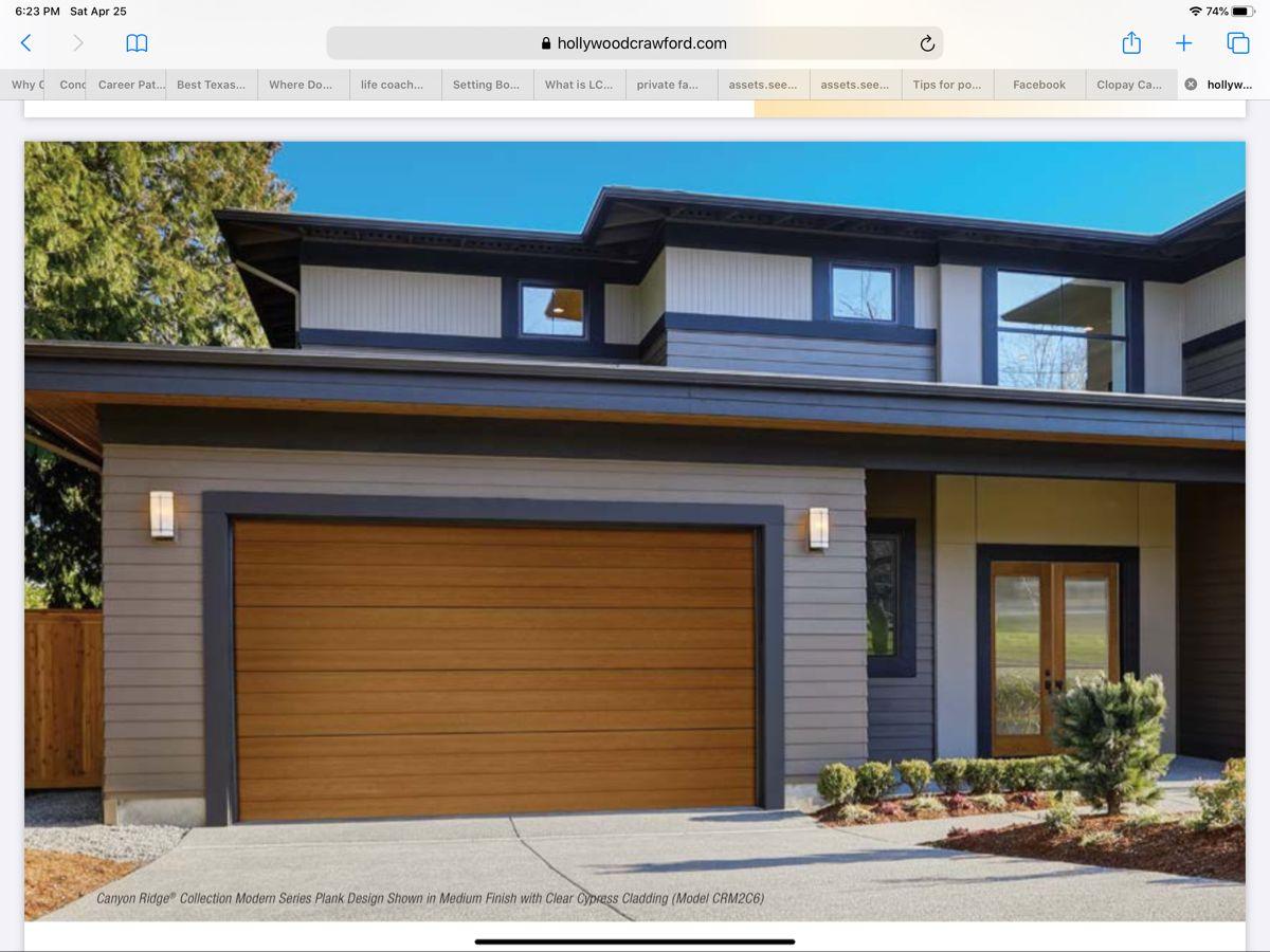 Garage Door Style In 2020 Garage Doors Garage Door Problems Modern Garage Doors
