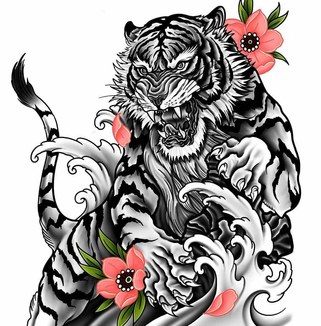 "SKETCHING ¦¦ LOGO MAKER ¦| 20K on Instagram: ""#Repost @sm_sketchography_2020 • • • • • • Credit @mark_torrans_tattoos ..... #japaneseart #japanesetattoo #irezumi #irezumicollective…"""