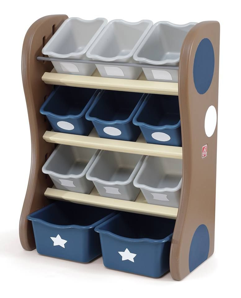 Childrens Jumbo Bedroom Room Tidy Toy Storage Chest Box Trunk: Kids Storage Baskets