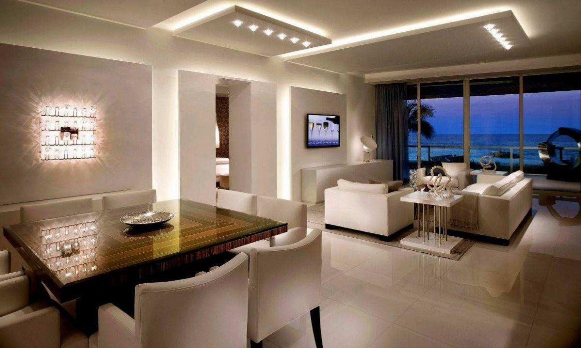 8 Wohnzimmer Dekoration Decke in 8  Beleuchtung wohnzimmer