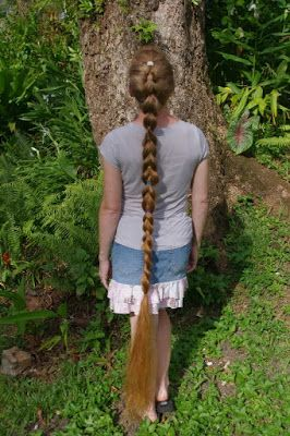 pull- braid ankle-length