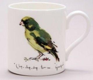 (MF24) Madeleine Floyd Greenfinch  Mug