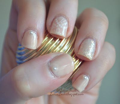 Lanie Buck: Mani Monday- Pearls and Polish