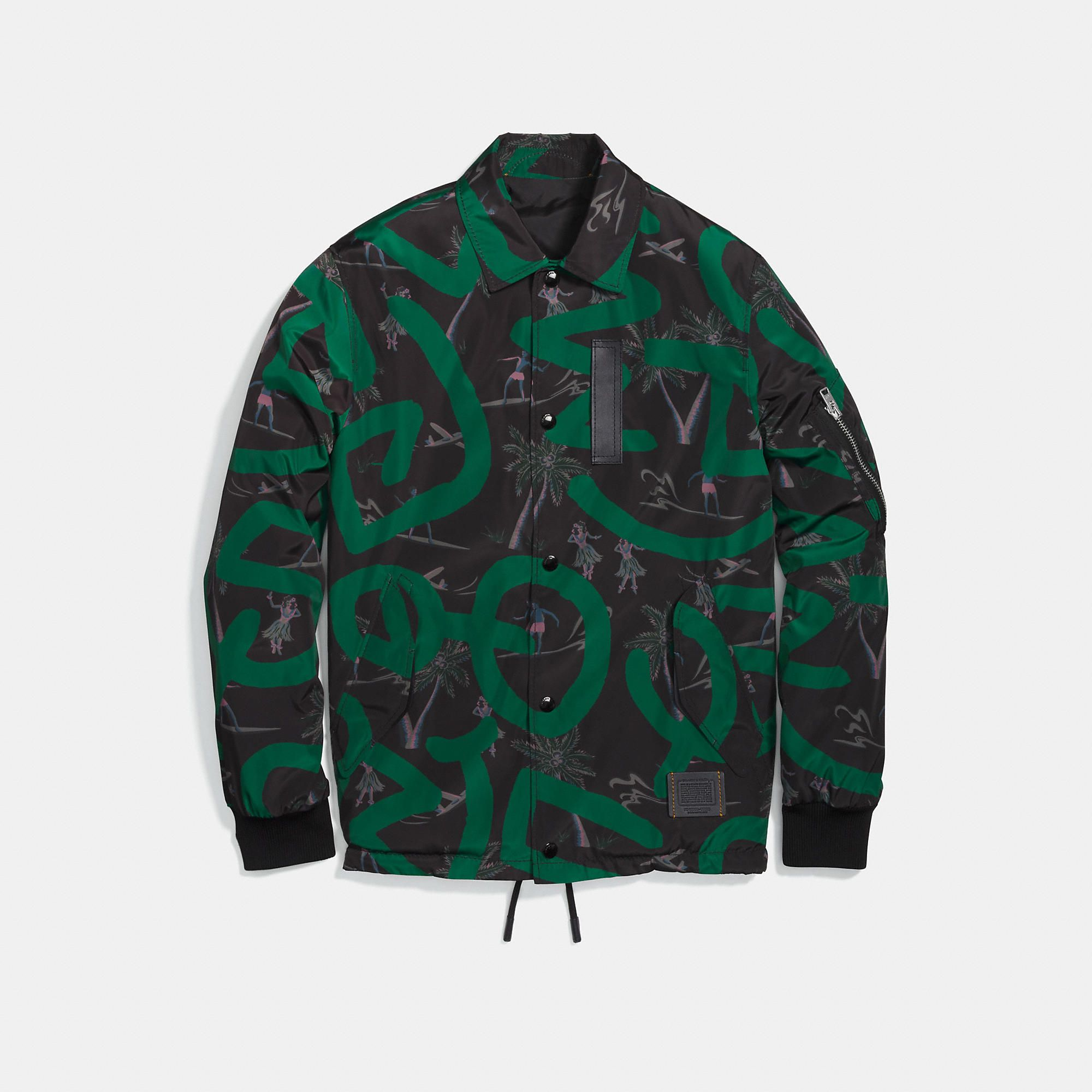 3ef5f94a2aed COACH Men s X Keith Haring Jacket