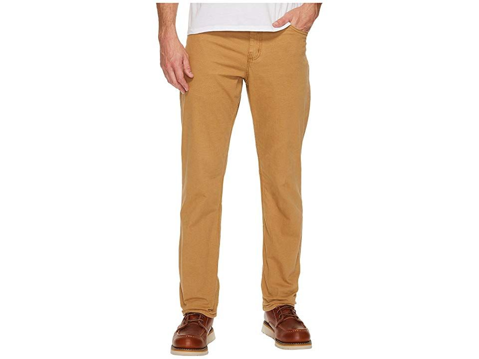 Carhartt FivePocket Relaxed Fit Pants Hickory Mens Clothing Set your limits and conquer them in ease with these robust Carhartt pants Durable Rugged Flex stretch technolo...