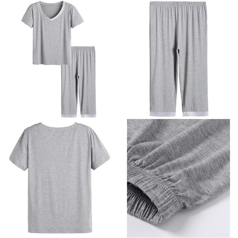 e44c42525 Latuza WomenS Sleepwear Tops With Capri Pants Pajama Sets  fashion   clothing  shoes