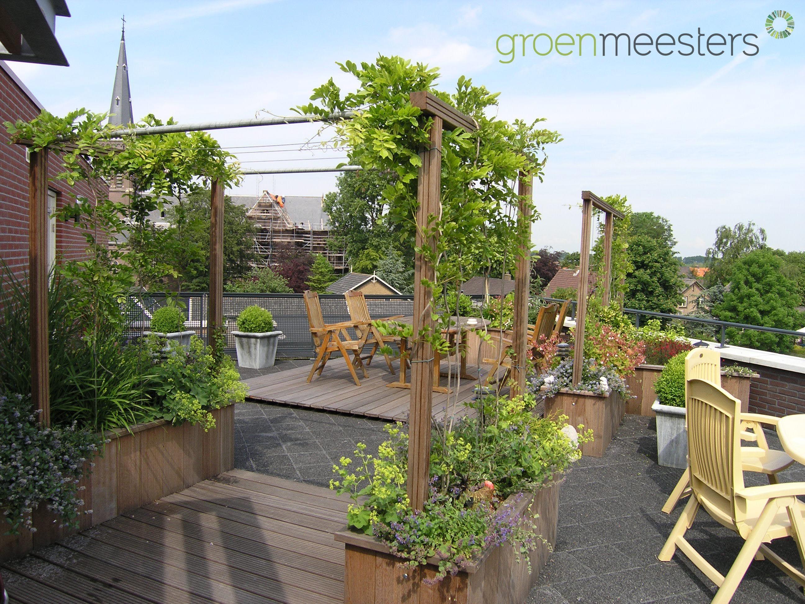 Tuin Laten Aanleggen : Op grote hoogte kunt u ook prima een groene tuin laten aanleggen