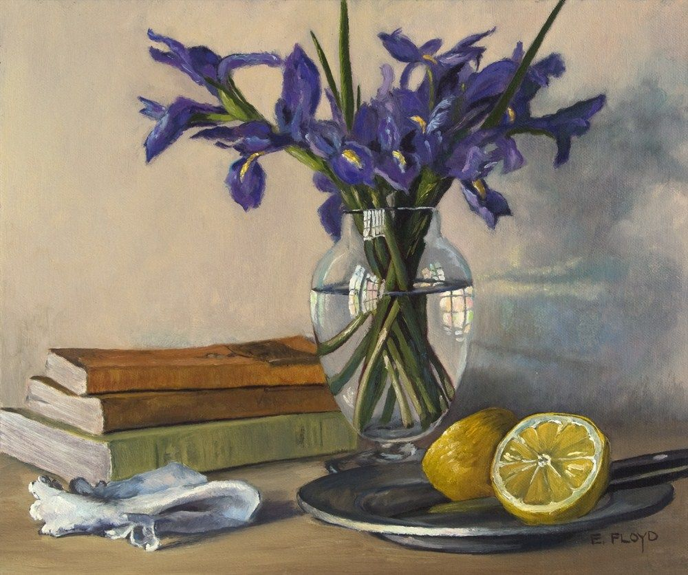 Watercolor books for sale - Elizabeth Floyd Still Life With A Cut Lemon On A Pewter Plate Books