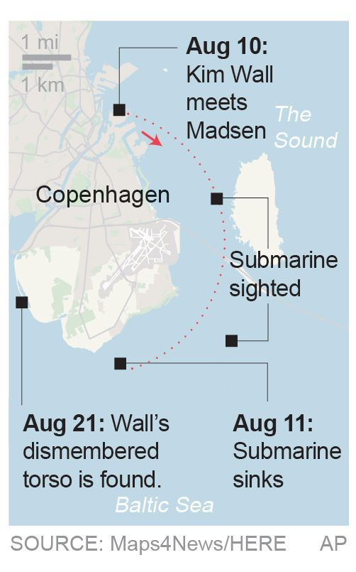 pin on news timeline in the case of journalist kim wall s on kim wall id=36680