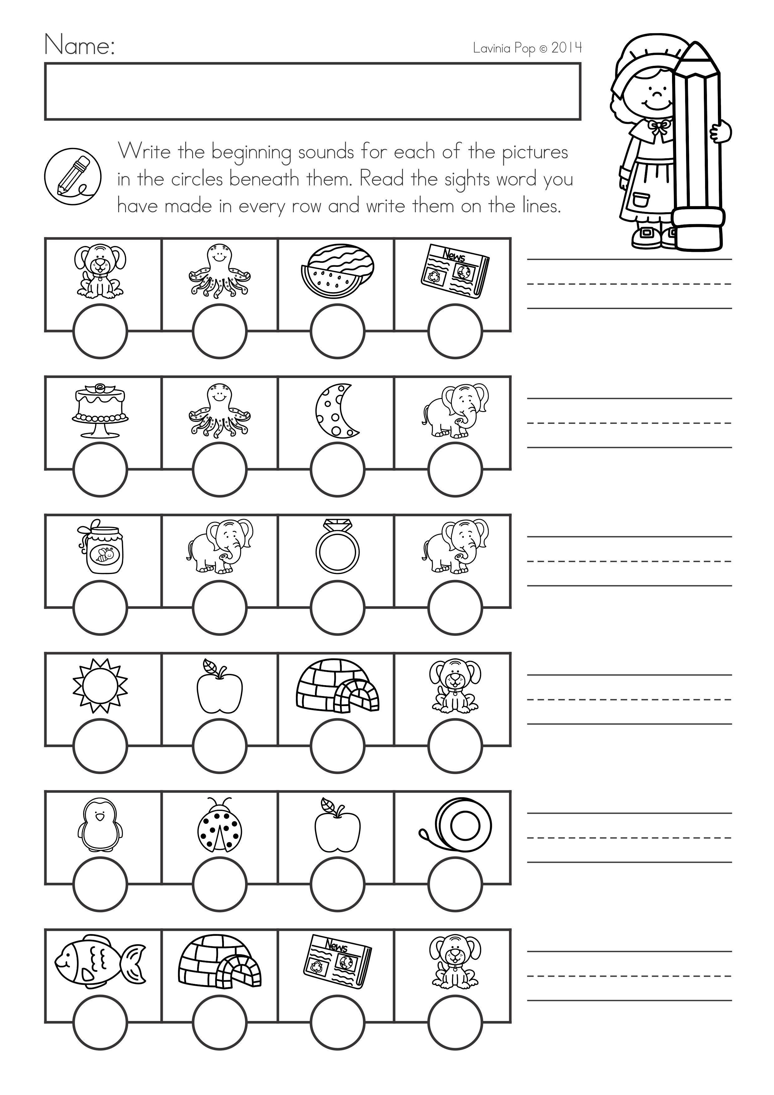 Thanksgiving Math Literacy Worksheets And Activities For Kindergarten Secret Code Sight Words Literacy Worksheets Math Worksheets Spring Math Kindergarten