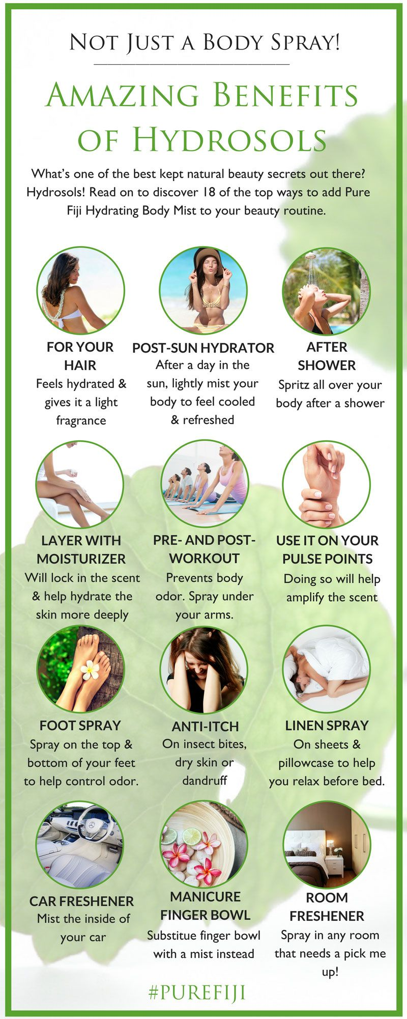 Not Just a Body Spray: 9 Amazing Health & Beauty Benefits of