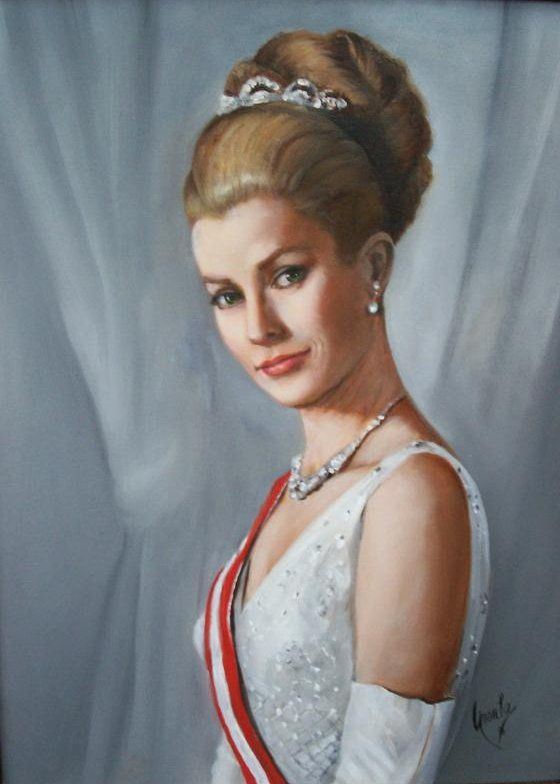 Grace, Princess of Monaco by Ursula Fernandez