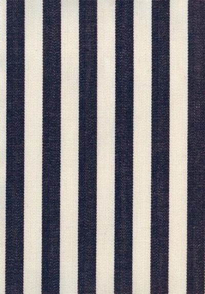 Navy & white stripes.