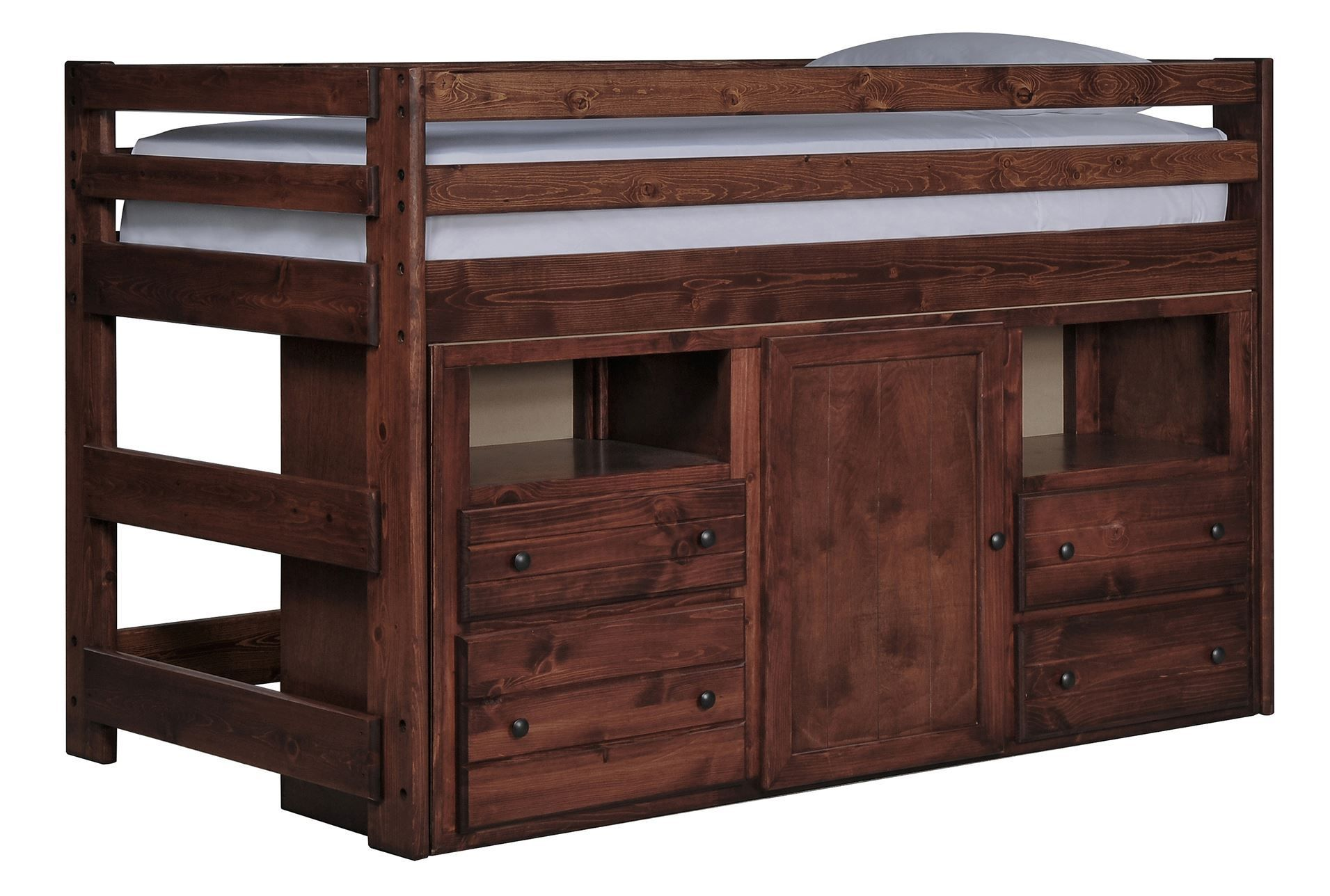 Sedona Junior Loft Storage Bed - Signature