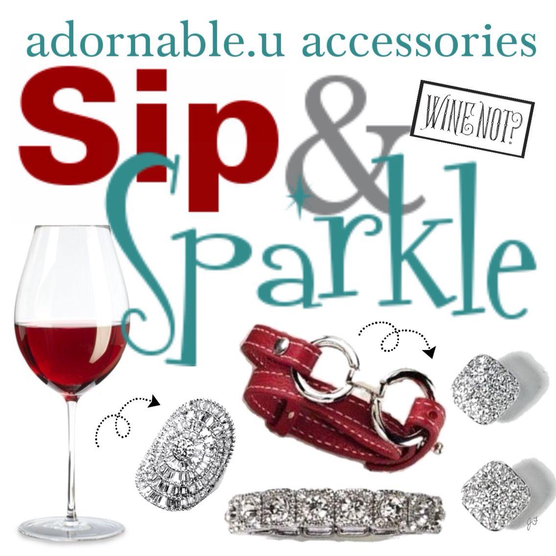 Sip Sparkle Adornableu Sparkle Party Party Themes Alcoholic Drinks
