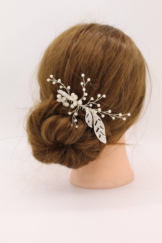 Bridesmaid Accessories Bridal Headpiece Wedding Hair Pieces Bridal Hair Accessory Bridal Haircomb Pearl Hair Accessory Wedding gift
