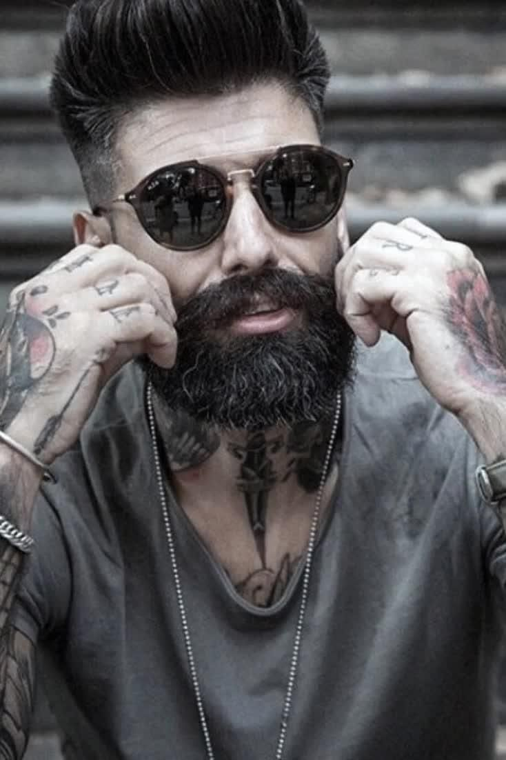 60 Awesome Beards For Men - Masculine Facial Hair