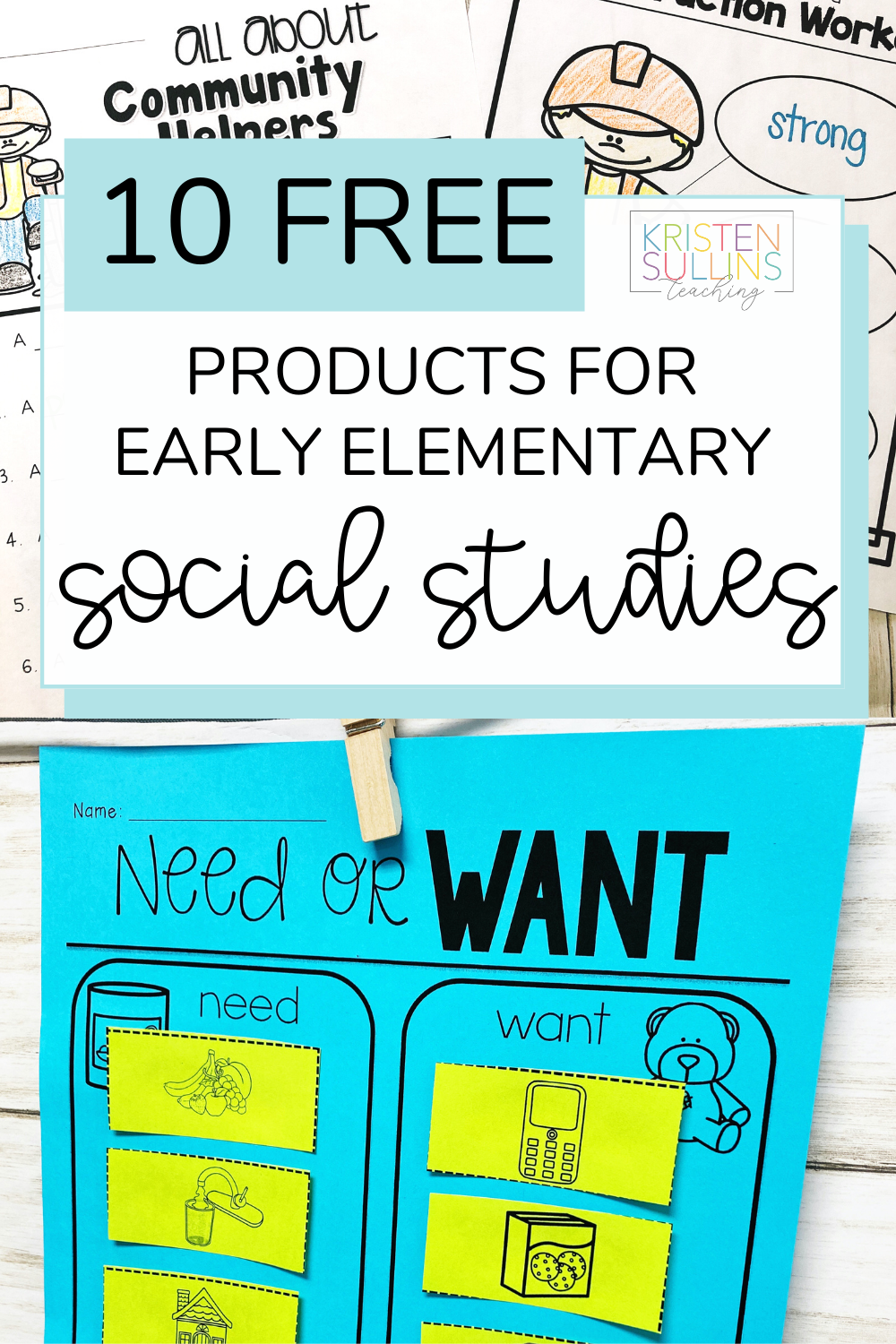 Free Social Studies Activities For Early Elementary In 2021 Social Studies Elementary Kindergarten Social Studies Social Studies Activities