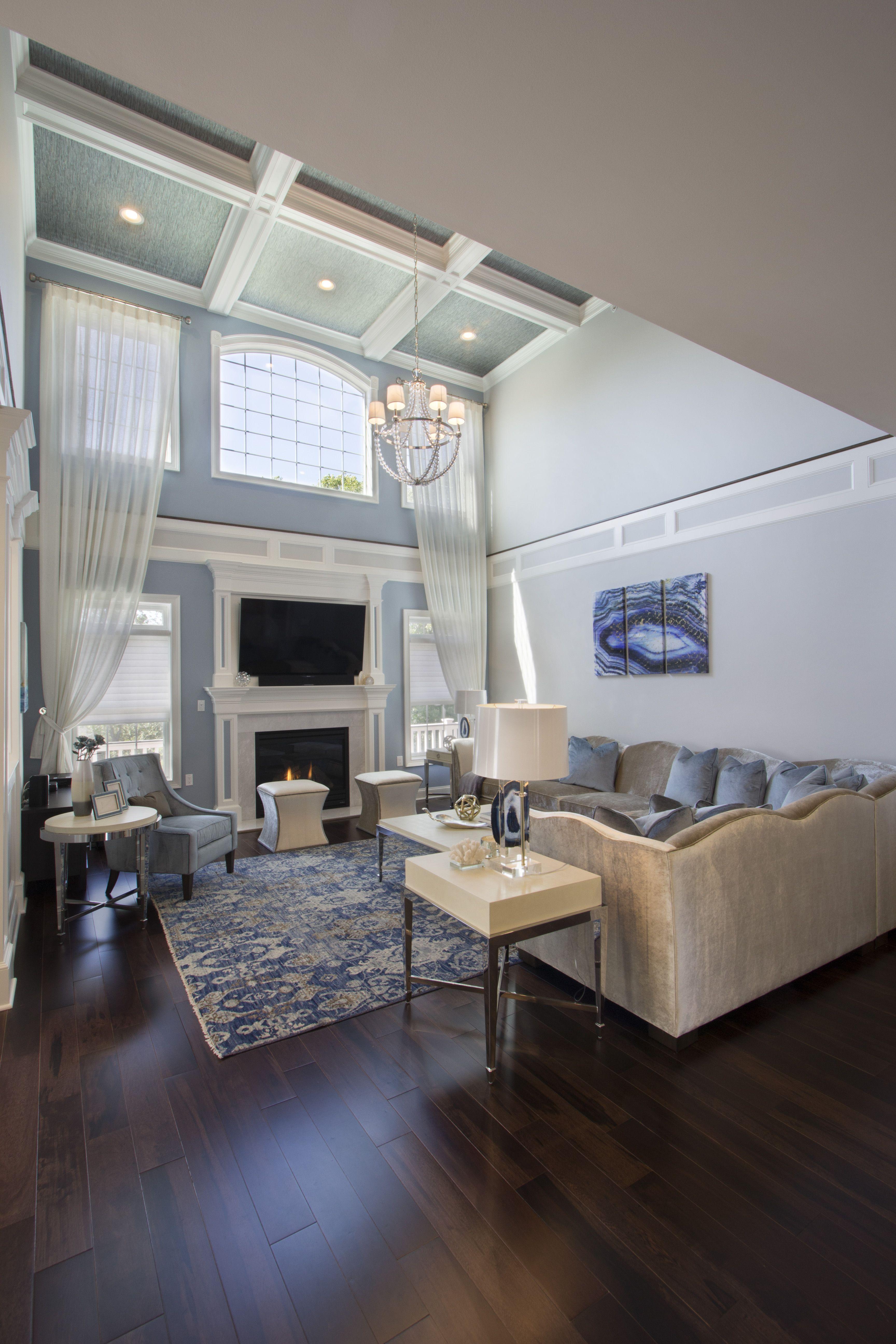 Glamilistic Living Room Designed By VDA In Morristown NJ