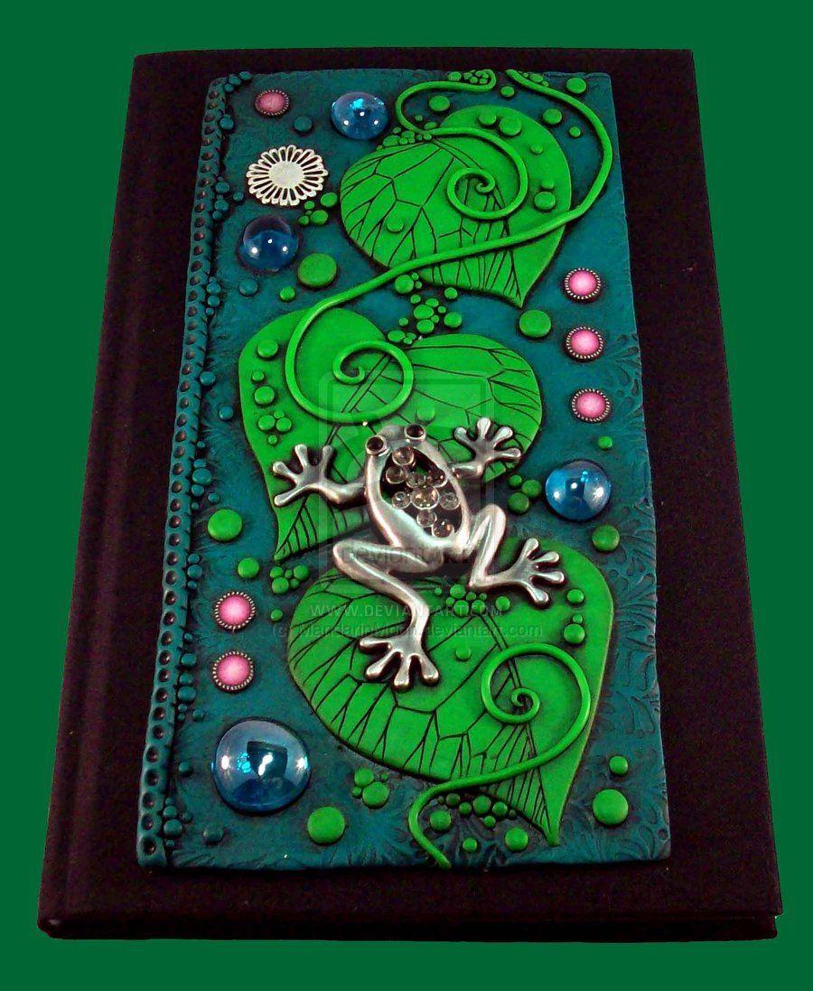Frog Leaf Journal by MandarinMoon.deviantart.com on @deviantART