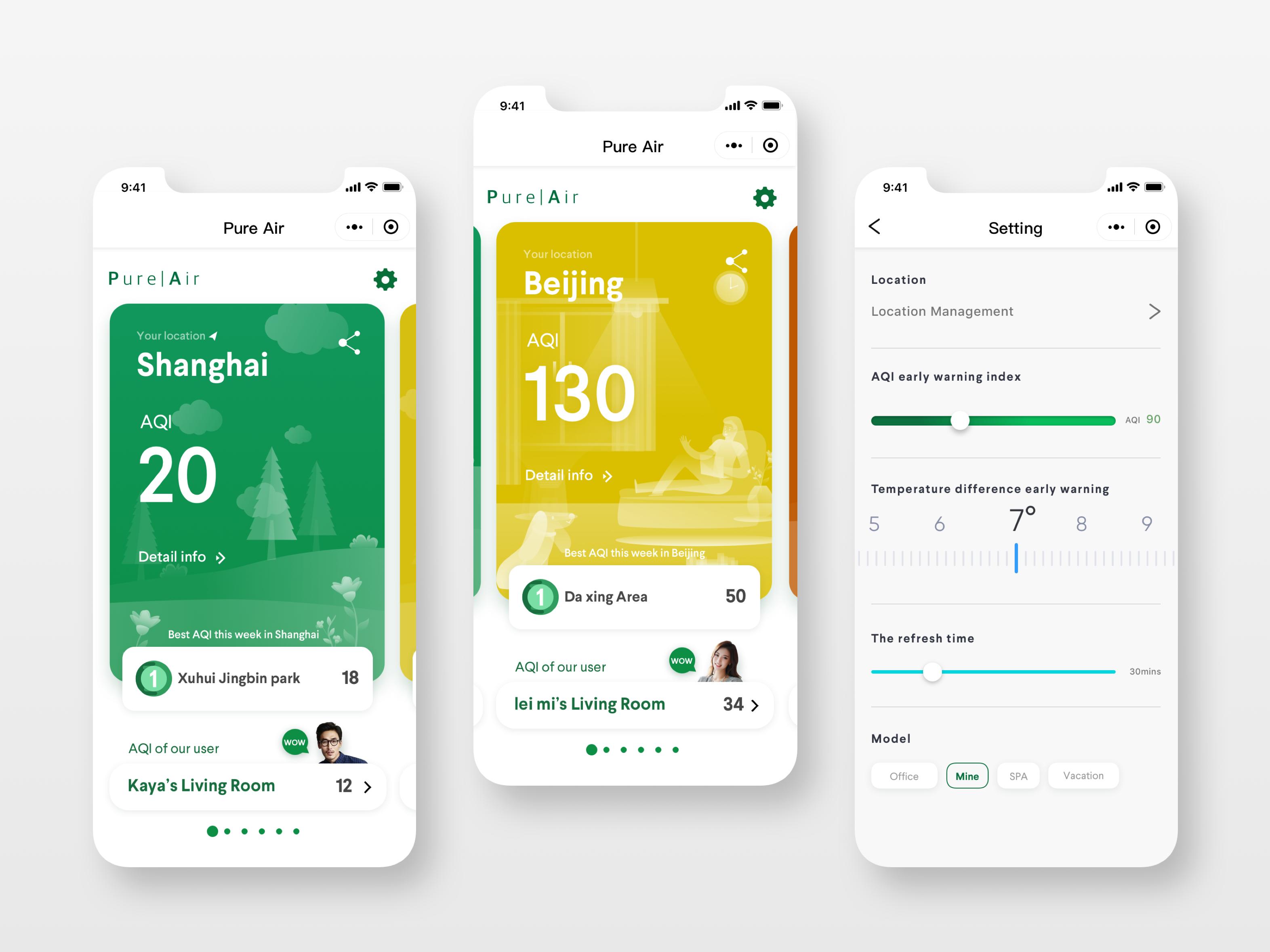 Air quality app Air quality app, App, Air quality