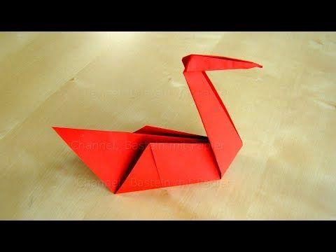 44 Origami Schwan Basteln Mit Papier Bastelideen Tiere