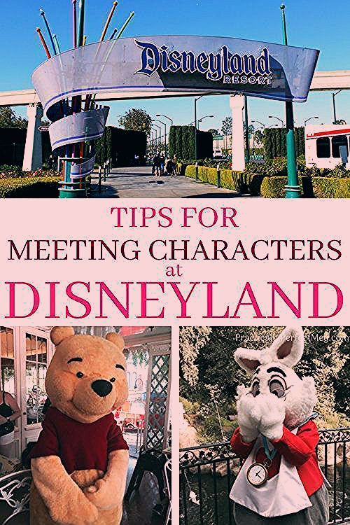 Photo of Tips for Meeting Characters at Disneyland.  — Practically Perfect Meg