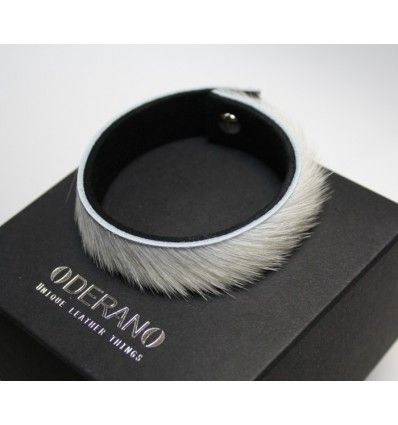 Las Genuine Leather And Fur Bracelet Tibe Undeniably Elegant Piece Of Jewellery Created With A Blend Clean Lines In Contemporary Design
