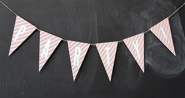 Free Printable Party Bunting