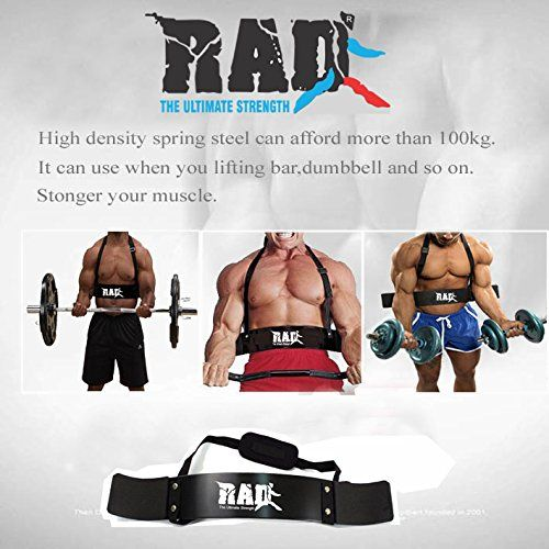 RAD Arm Blaster Body Building Bomber Bicep Curl Triceps Muscle