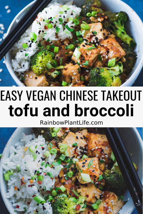 Chinese Takeout Style Tofu And Broccoli Recipe From The Vegan Instant Pot Cookbook Rainbow Plant Life In 2020 Instant Pot Cookbook Vegan Instant Pot Recipes Tofu Recipes Easy
