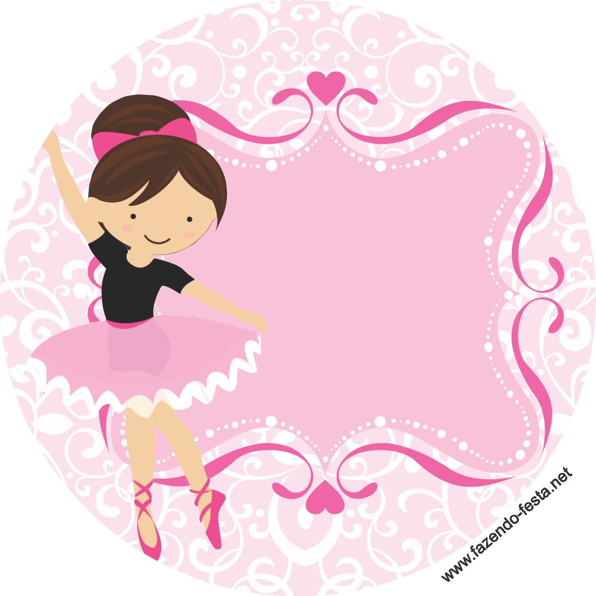 Adesivo Rivastigmina Bula ~ kit festa bailarina adesivo sacolinha Arte em Impress u00e3o Pinterest Festa bailarina