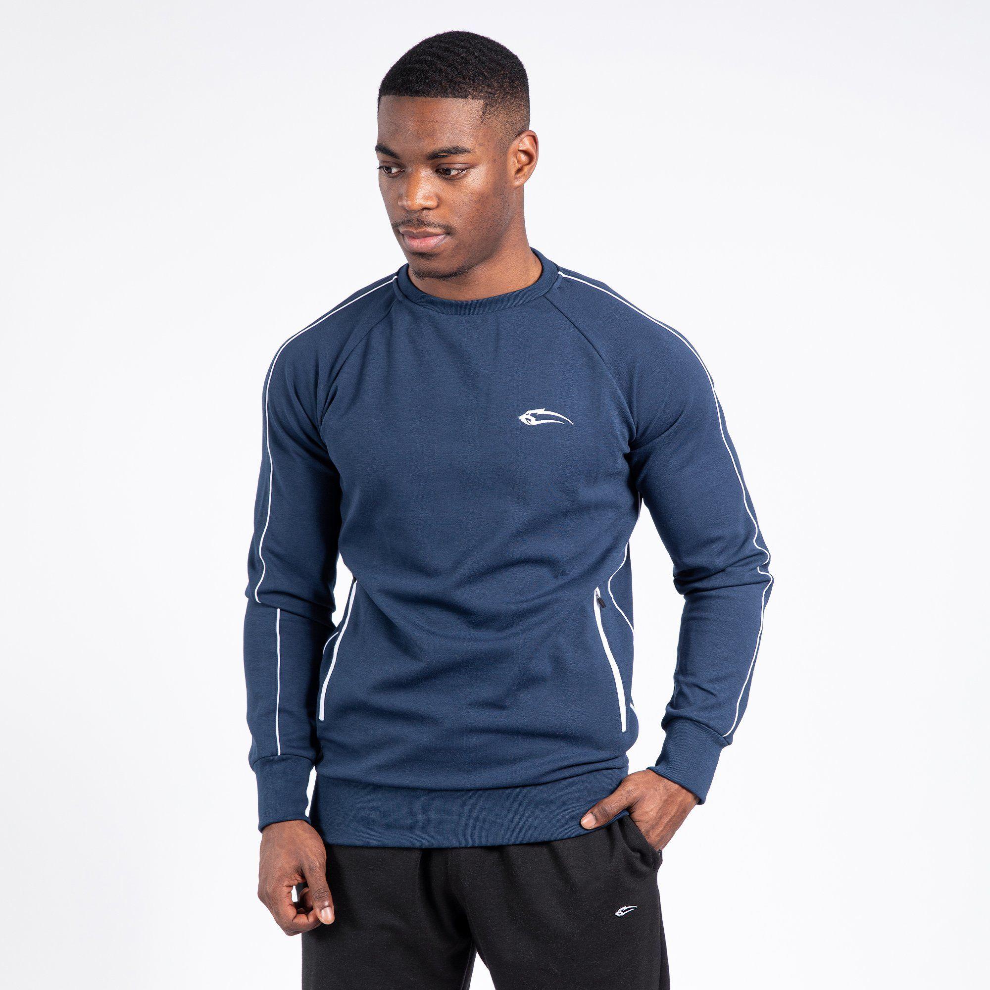 Sweatshirt Zane – Blau / 4XL