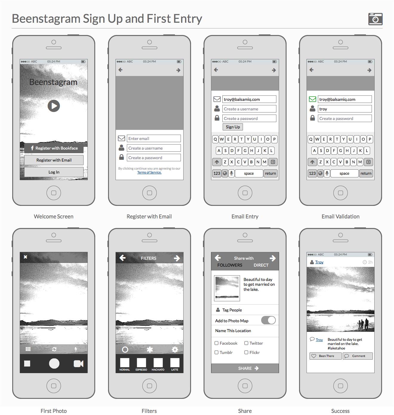 Storyboard For Website Design: Creating Polished Wireframes – UX Blog – Balsamiq