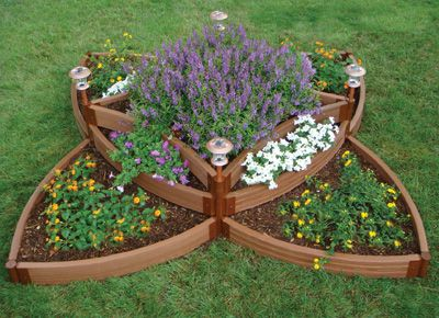 Butterfly Raised Bed Garden Kit From National Gardening