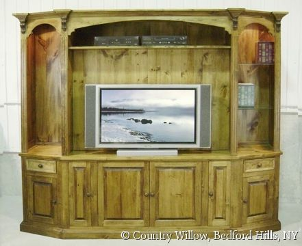 Country Willow Furniture Corner Tv Stands Willow Furniture