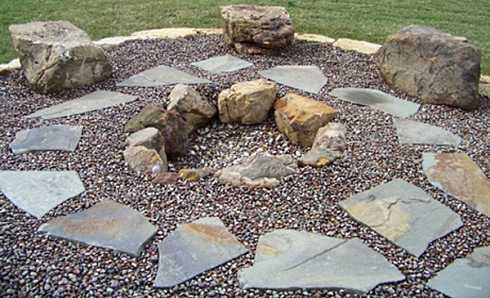 Fire Pit Plans | Stone Fire Pit Designs . . . Veritable Works Of Art!