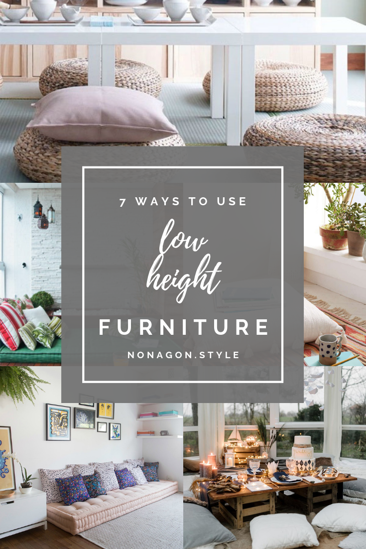 7 Ways To Use Low Height Furniture In Your Home Decor Living