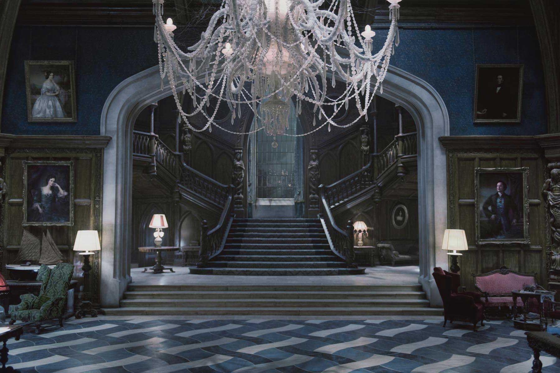 Interior , Gothic Interior Design For Dark But Attractive Home Decor Ideas  : Luxury Gothic Interior Design Idea