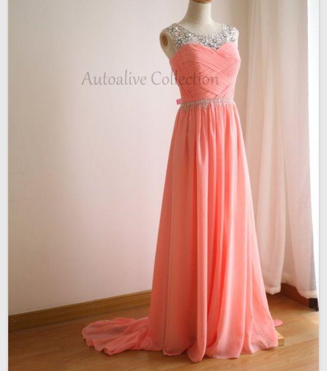 Light orange | Prom Dresses | Pinterest