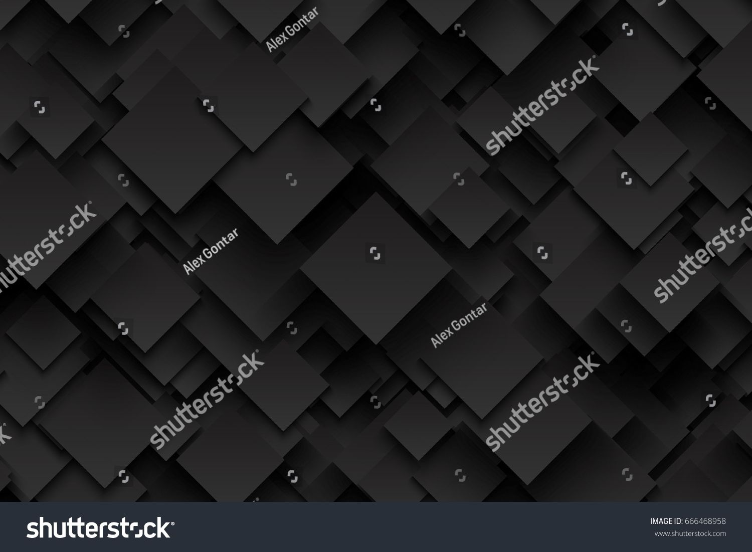 Abstract 3d Vector Technology Dark Gray Background Carbon