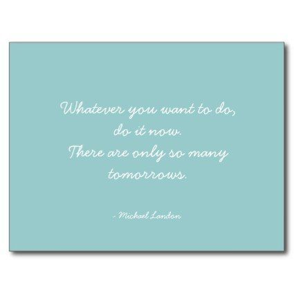 Quotable Quotes Work Career And Dreams Post Card Inspirational