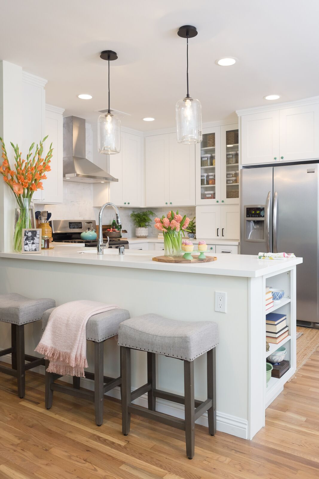 Light & Bright Kitchen Renovation By Jasmine Roth As Seen